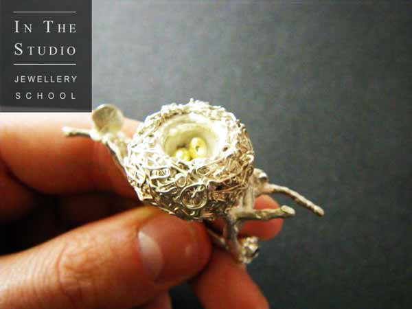 Fine-Silver-and-Gold-Leaf-Bird-Nest-Ring