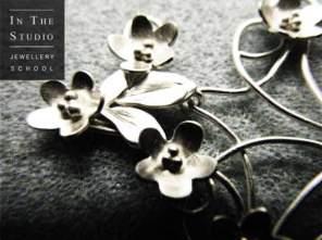 Flowers in Argentium Silver