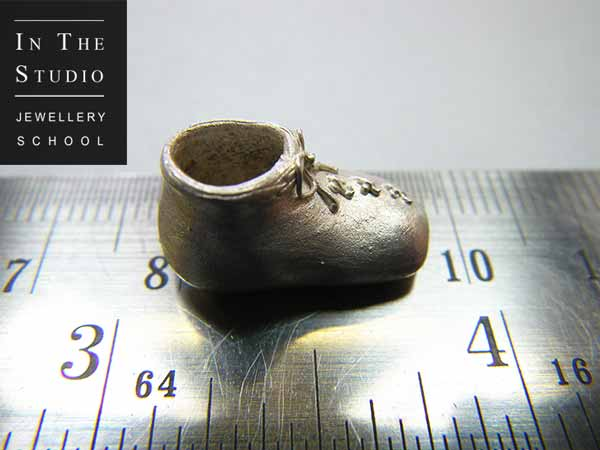 Precious-Metal-Clay-Silver-Shoe