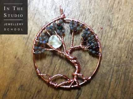 Woven-Wire-Tree-Pendant