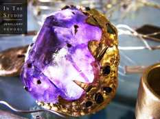 Amethyst-and-Bronze-Ring