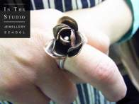Chasing-and-Repousse-Silver-Rose-Ring