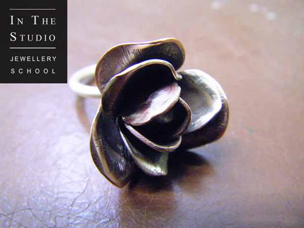 Chasing-Repousse-Rose-Ring
