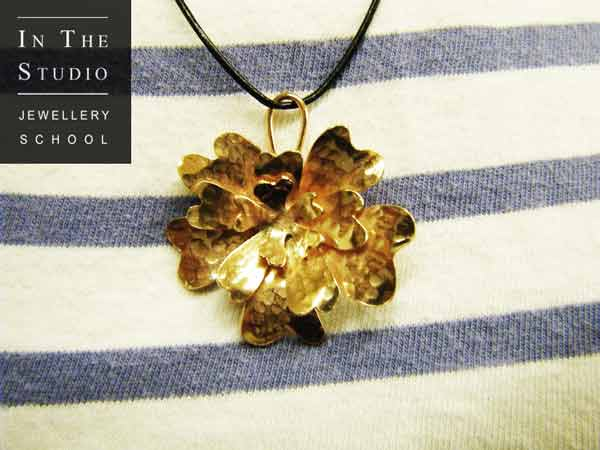 Hand Made Floral Pendant