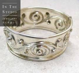 Sterling-Silver-Bracelet-with-Hinge