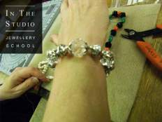 Beading course bracelet