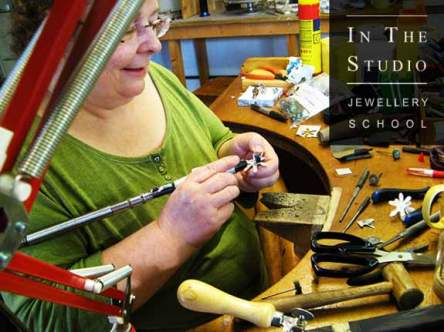 Finishing Argentium Silver Jewellery